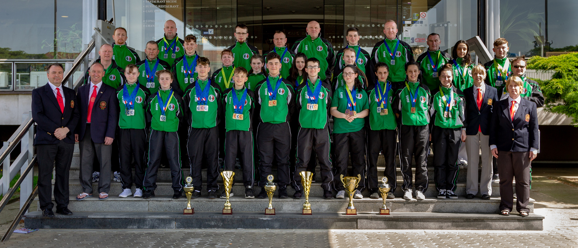 SKIF Ireland win 57 medals at Hradec Kralove SKIF Grand Prix