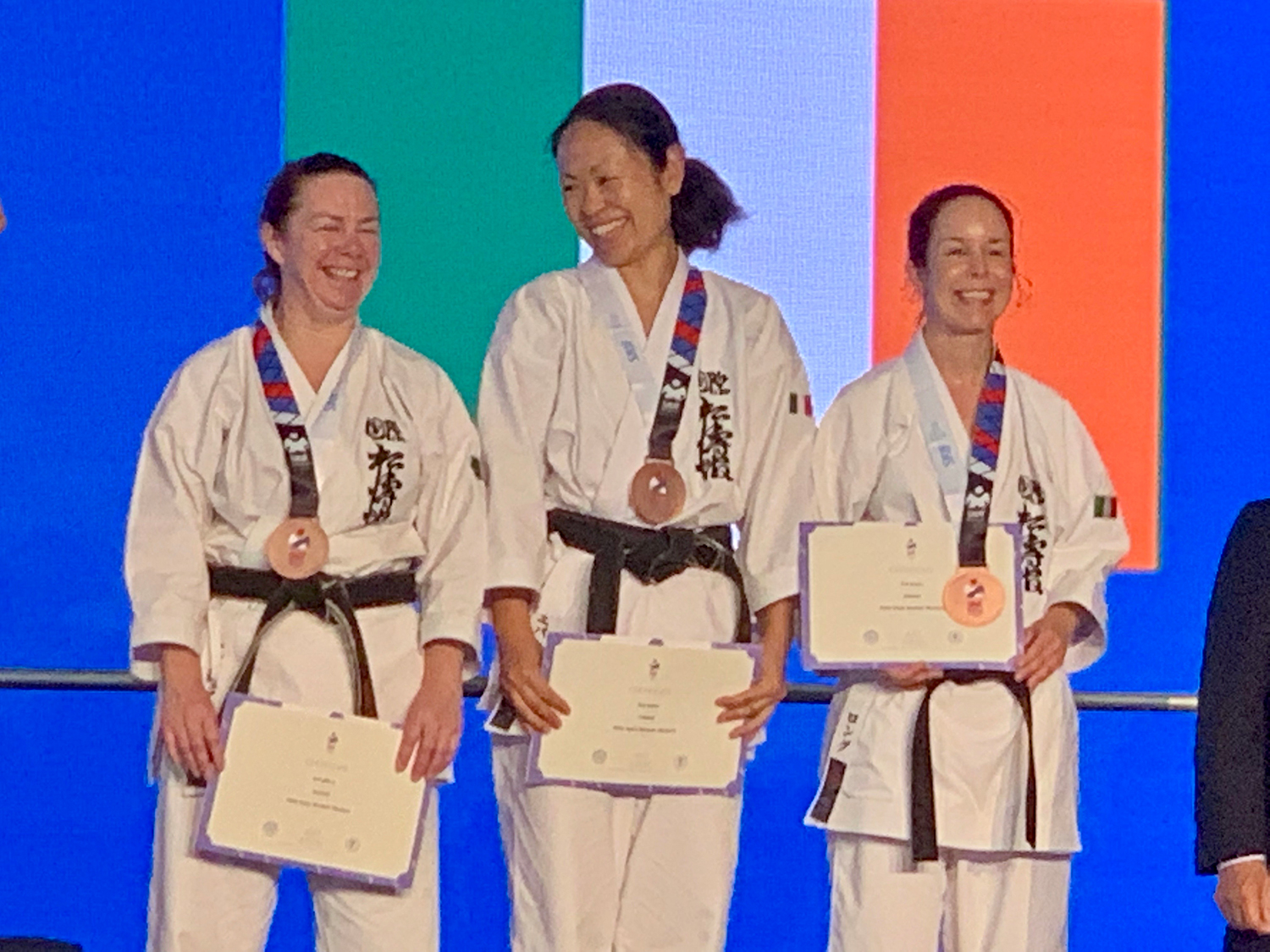 Bronze for SKIF Ireland Women Masters Team Kata at SKIF World Championships