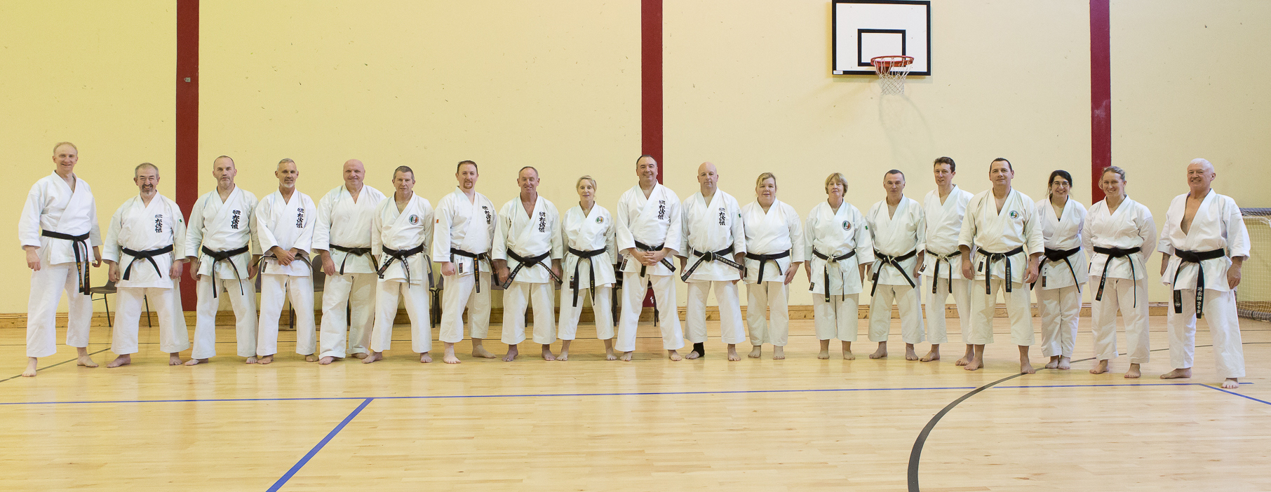 SKIF Ireland Chief Instructor Sensei Ray Payne Instructors Course Photos