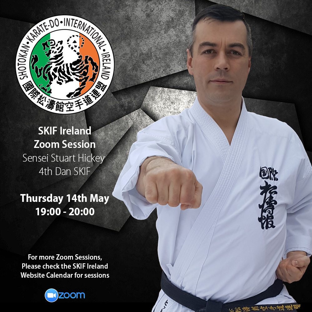 SKIF Ireland Zoom Sessions: Sensei Stuart Hickey