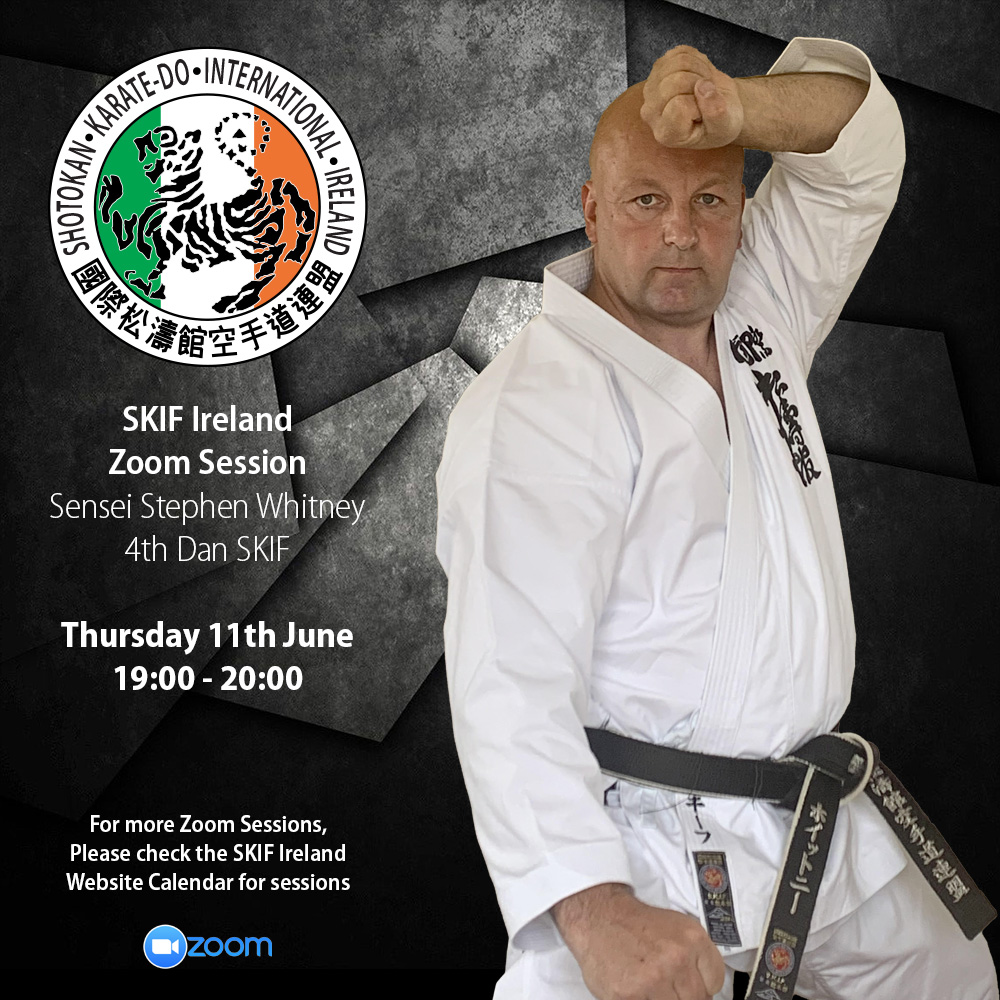 SKIF Ireland Zoom Sessions: Sensei Stephen Whitney